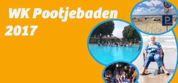 WK Pootjebaden in Tuindorp Oostzaan